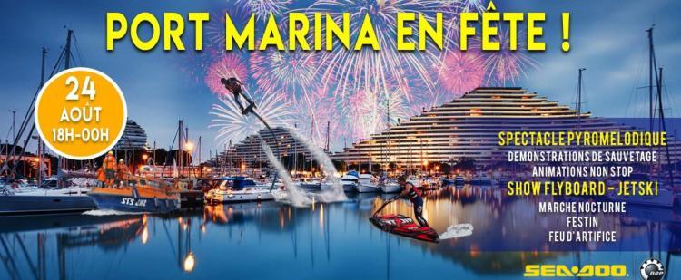port-marina-fete-villeneuve-loubet-animations