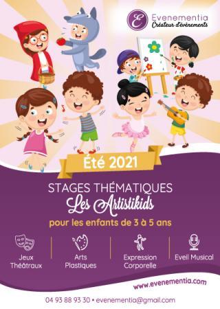 stages-vacances-enfants-artistikids-evenementia-nice